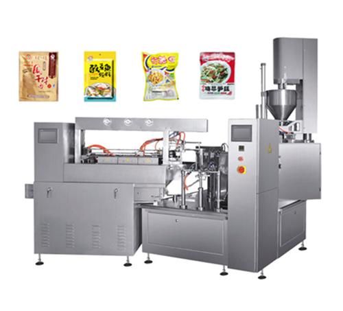 全自动给袋式酱菜自动真空包装机