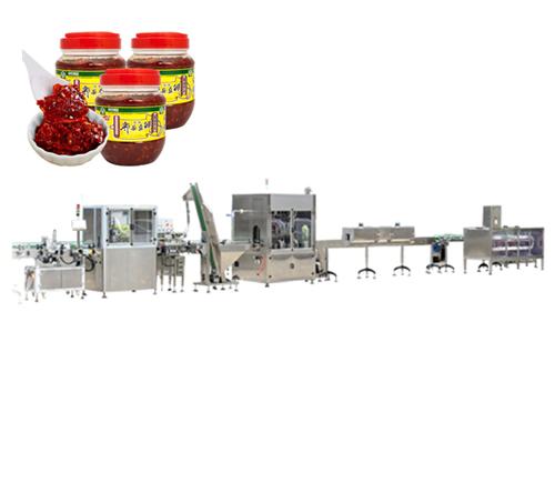 豆瓣酱自动灌装生产线